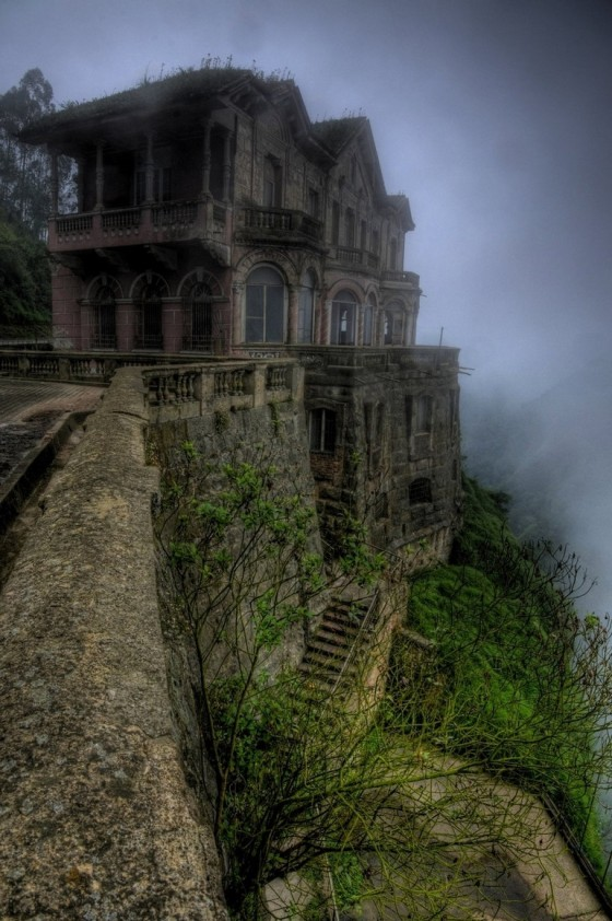 El Hotel del Salto in Colombia