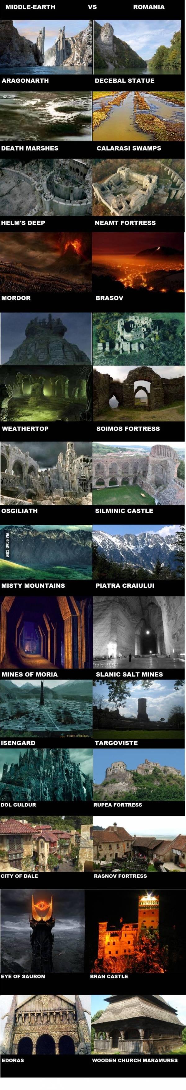 Middle Earth vs Romania - Imgur