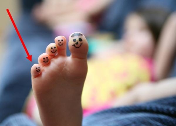Minmus - Your pinky toe.