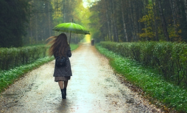 Petrichor - The scent of rain on dry earth.