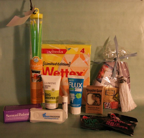 2013-10-04 Bloggmiddagen Goodiebags 04