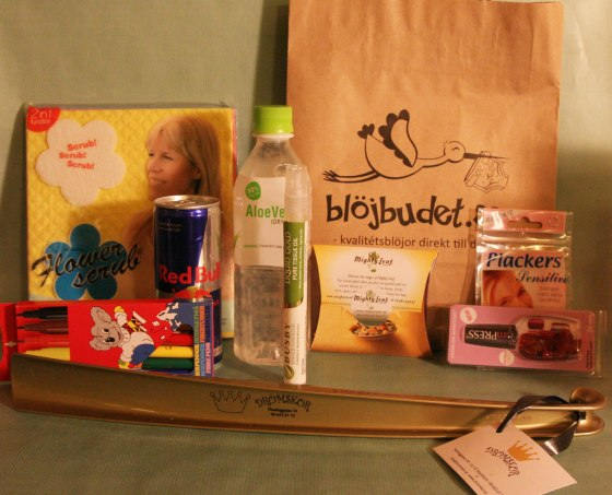 2013-10-04 Bloggmiddagen Goodiebags 07
