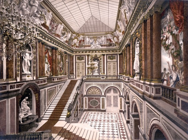 Herrenchiemsee New Palace, Lake Chiemsee, Germany