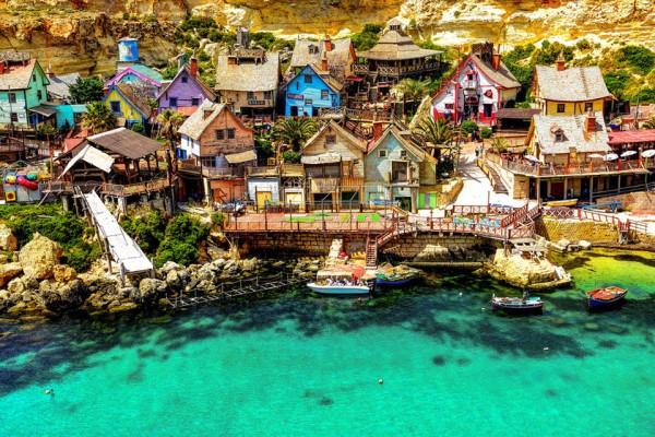 Popeye Village in Mellieha, Malta