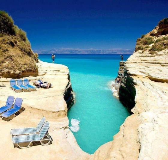 Sidari, Corfu, Greece