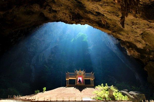 Phraya Nakhon cave, Sam Roi Yot National Park, Pranburi, Thailand