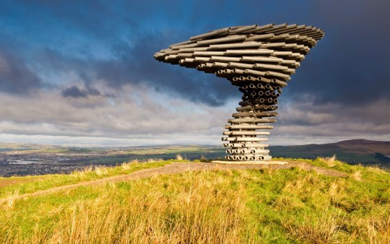 The Singing Ringing Tree, Lancashire, England