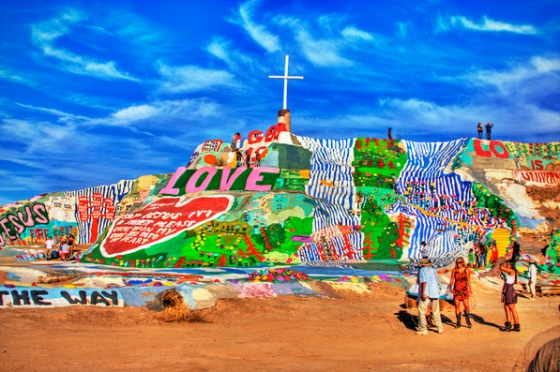 Salvation mountain, Niland, California