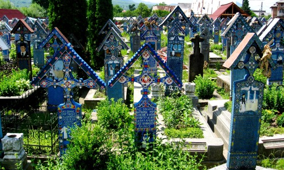 The Merry Cemetery of Săpânța, Maramureş, Romania