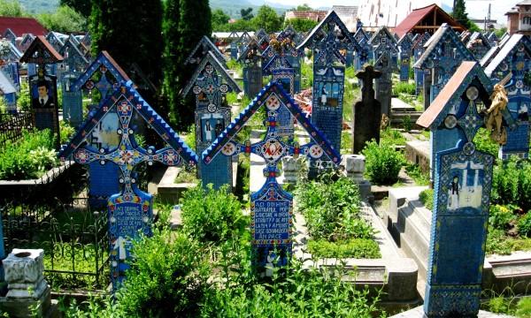 The Merry Cemetery of Săpânța, Maramureş, Romania