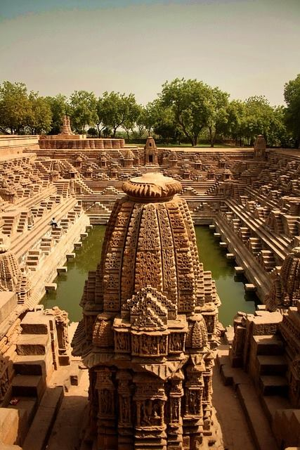 The Sun Temple at Modhera in Gujarat, India