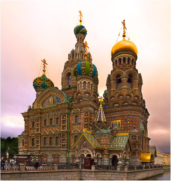 The Church of the Savior on Spilled Blood, Saint Petersburg, Russia (go inside, it's worth it!)