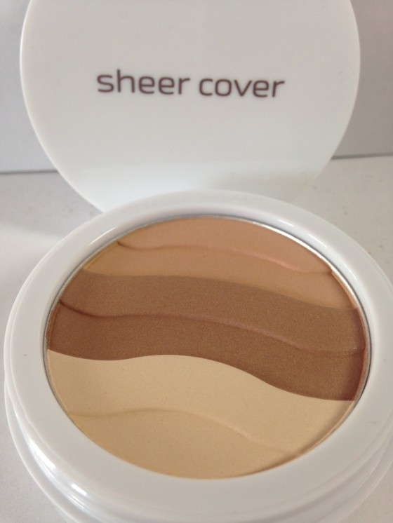 Sun-kissed mineral puder