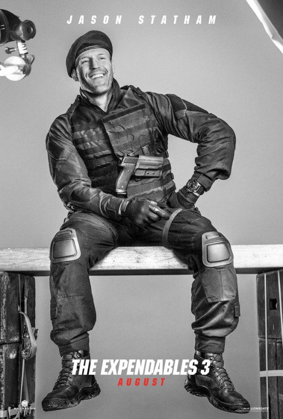 Jason Statham Expendables 3